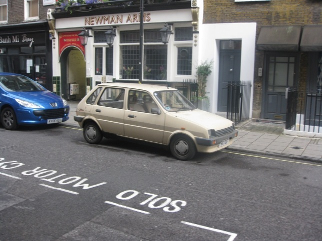 Not quite a bean car